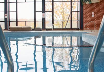 The swimming pool at Barnham Broom