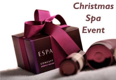 Spa Xmas Event Header