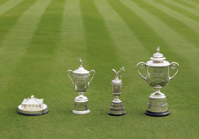 golf-major-championship-trophies