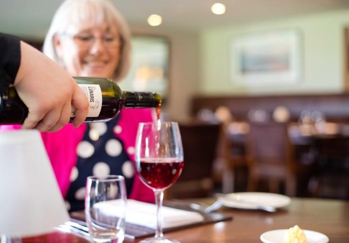 Brasserie wine