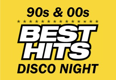 90s and 00s disco night