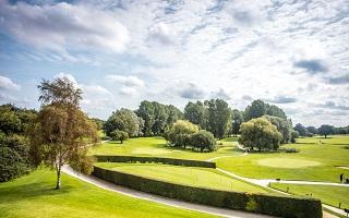 golf course at luxury norfolk hotel barnham broom